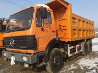 Used Beiben Dump Truck 25T 40t 4x8 model Used Howo Shacman Volvo brands Original parts dump trucks