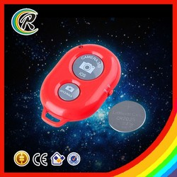 Manufacturer bluetooth shutter button remote for stick selfie