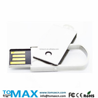 Free your logo direct buy china 8G metal twister USB stick