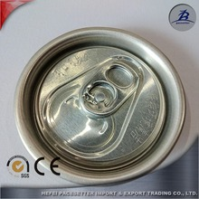 aluminum beverage can use embossed #202 easy open ends/lids