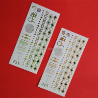 hot wholesale falsh tattoo metallic tattoo custom waterproof temporary tattoo