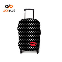 Luckiplus Funny Designed Luggage Cover Fine Quality Trolley Case Cover