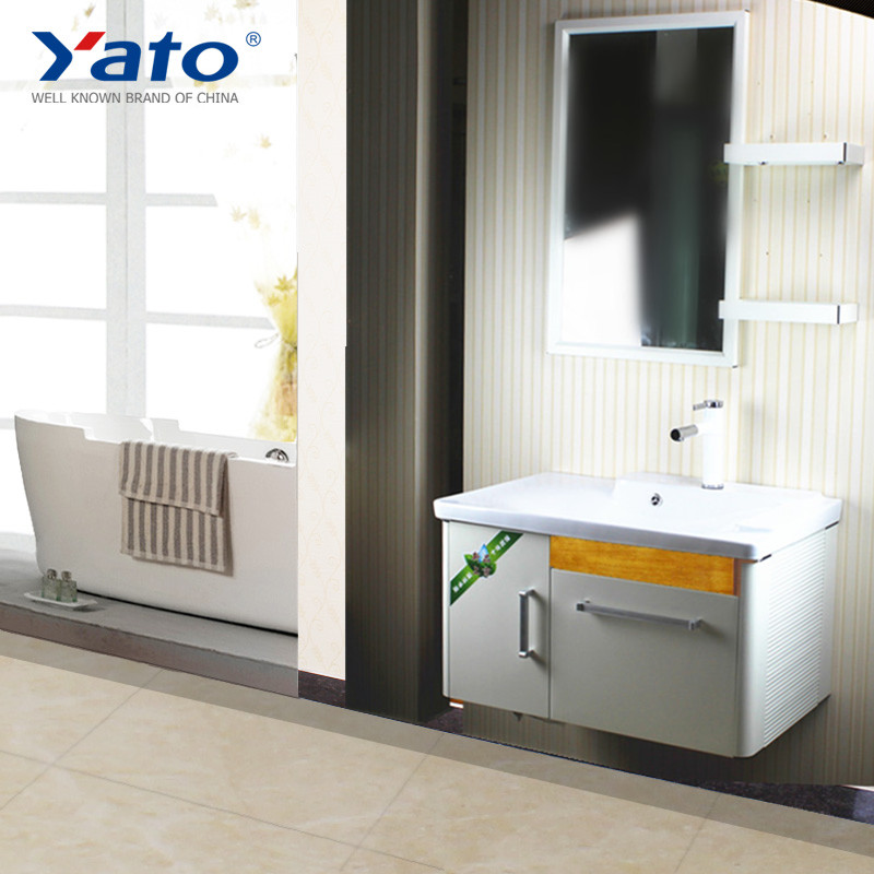 Aluminum bathroom furniture vanity sanitary ware set