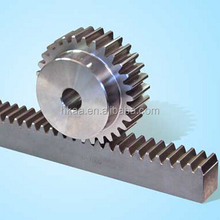 custom small rack and pinion gear, stainless steel gear rack