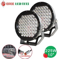 10 Inch 225w Led Round Driving