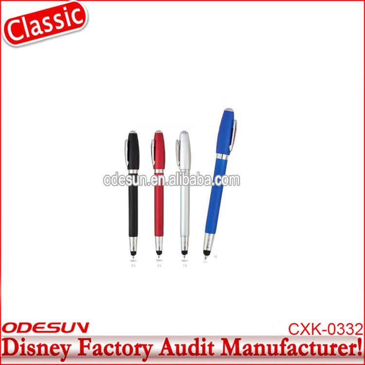 Disney Universal NBCU FAMA BSCI GSV Carrefour Factory Audit Manufacturer Rubber Grip linc Ball Point Pens With Logo Printed