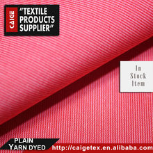 Striped 100% Cotton 50s High Density Plain Stripe China Factory Business Casual Fabric