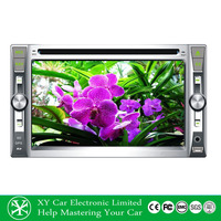 6.95 Inch car dvd player ,GPS navigation car radio 2 din for renault megane ii XY-D4695