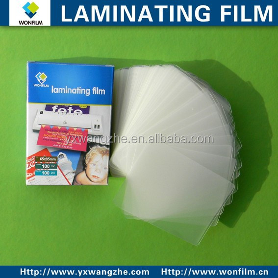 a4 double sided heat seal laminating film