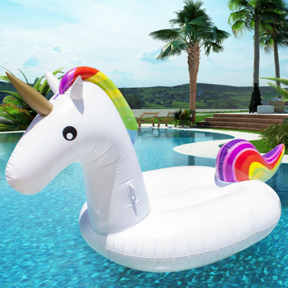 Hot sale PayPal accepted giant inflatable unicorn pool float with fast delivery