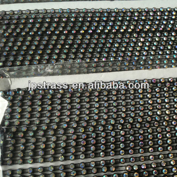 diamond mesh wrap rolls rhinestone mesh ,diamond wrap trimming