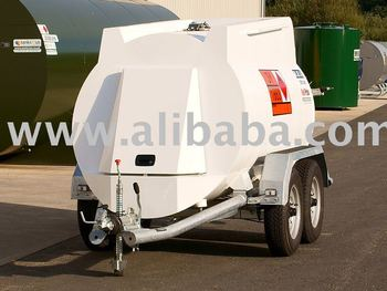 Mobile tanks for two-coat. aviation fuel (for entry to the road) avgas, JET-A1