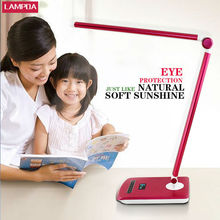Simple foldable modern bedroom reading eye protection lamp learning desk lamp