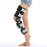 CE FDA orthopedic leg brace / angle adjustable knee brace / medical post-op knee support