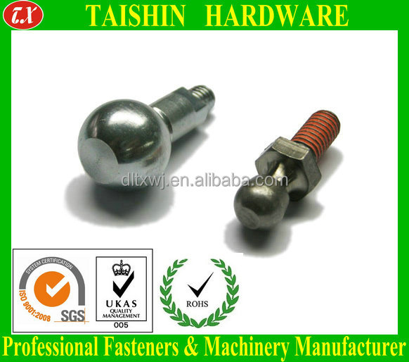 Special Customized Ball Head Threaded Stud Bolts Fasteners