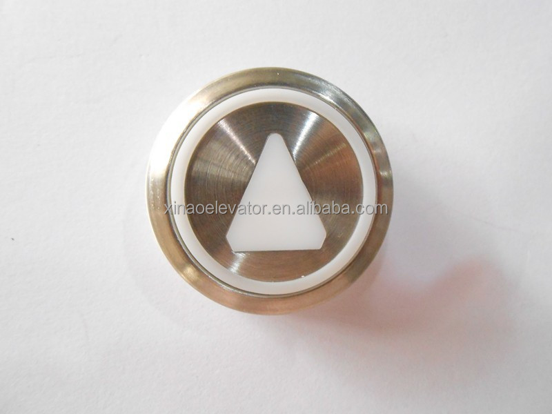 elevator parts push button with led elevator push button switch
