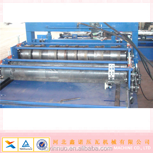 used price and new steel slitting machine for metal roofing machine
