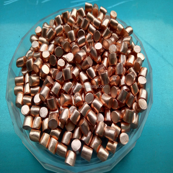 99.9995% ~99.99995% purity copper granules from China copper materials company