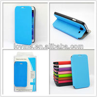 Fashion Smart Flip Folder Cover Ultra Slim Leather Case for Samsung Galaxy Mega 5.8 i9150