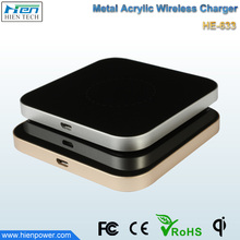 Power Qi universal wireless magnetic induction charger mat qi wireless charging charger for handphone