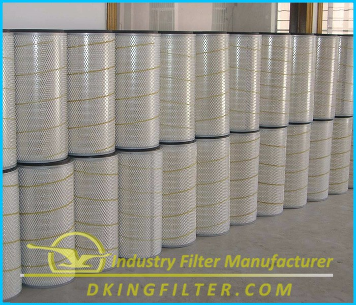 Replacement Industrial Air Filter Cylindrical/Conical Intake Air Filter Cartridge