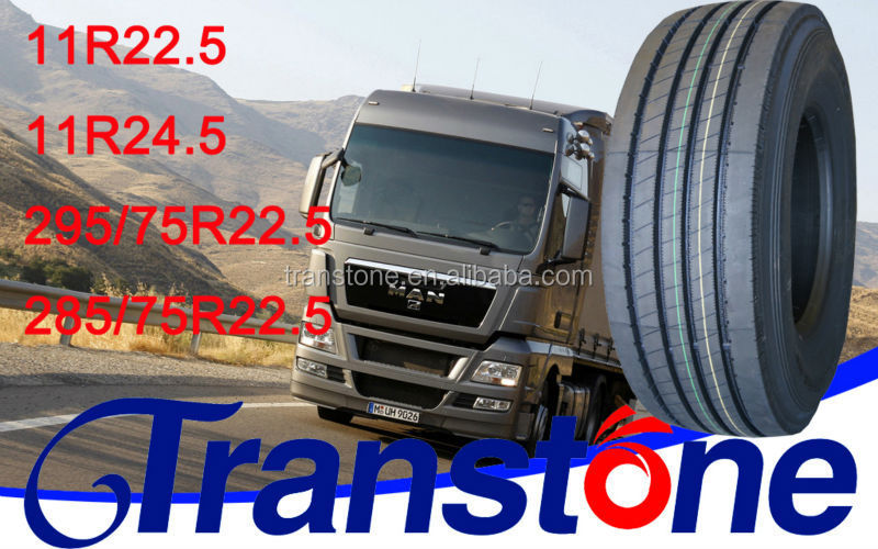 Transtone brand tyre used tires in united states 11R24.5