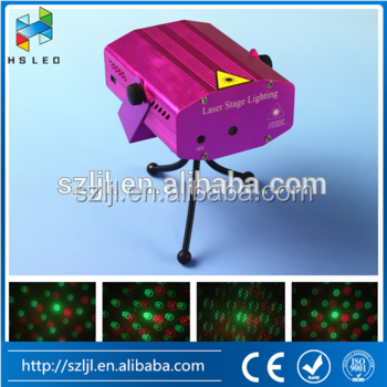 24 Shapes Light Red&Green Mini Laser LED Projector Light Show for Chritmas