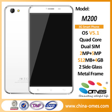 Full Metal Body M200 5.5 inch 3G Quad Core Android 5.1 MTK 6580 smart phone