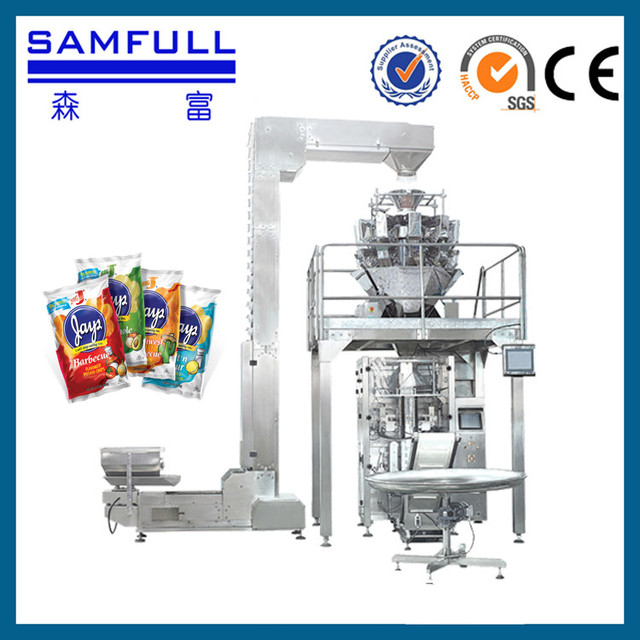 Full automatic nuts chestnut packing machine