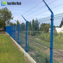 high rigidity/optimal strained Triangle Wire Mesh Fence for parks(China factory)