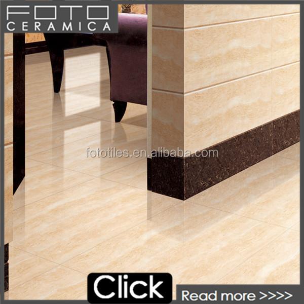 China Foshan Hot Sale Living Room Vitrified Dragon Jade Beige Kerala Ffloor Tiles Design Pictures Polished Tile