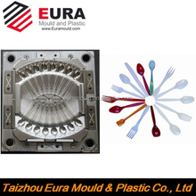 China Taizhou Plastic knife fork spoon mould, spoon mold, tableware mould maker