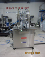 Semi-auto double nozzels liquid filling machine for Water/juice/oil/medicine bottles
