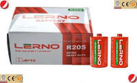 higher quality than tiger-head LERNO CELL extra heavy duty D size R20 UM-1 dry battery