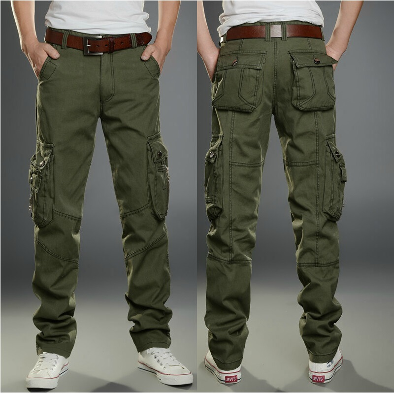 Factory Price Wholesale Six Pockets Design Men Military Cargo Pants