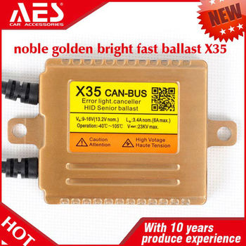 AES canbus fast start X35 can-bus hid ballast fast bright