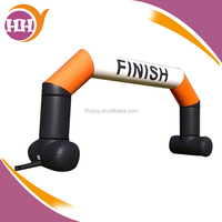 inflatable start/finish line arch,inflatable racing gate
