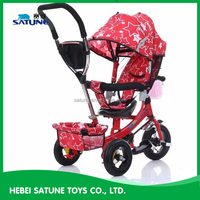 2016 baby tricycle 4 in 1 trike/child tricycle seats/cheap kids tricycle kids smart trike