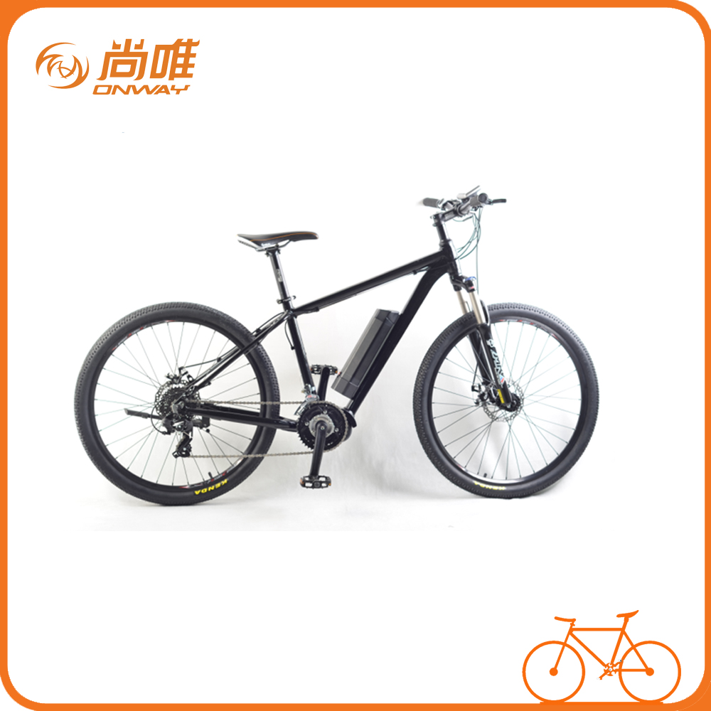 Moped with Pedals 26 Middle Motor Electric Bicycle