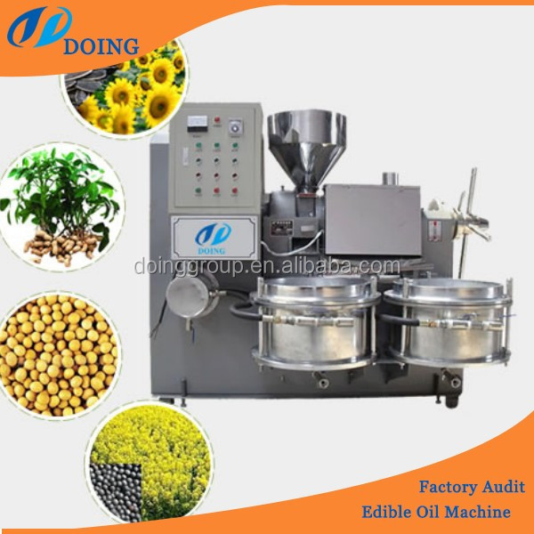 High quality lower price sunflower/ soybean/ coconut oil machine