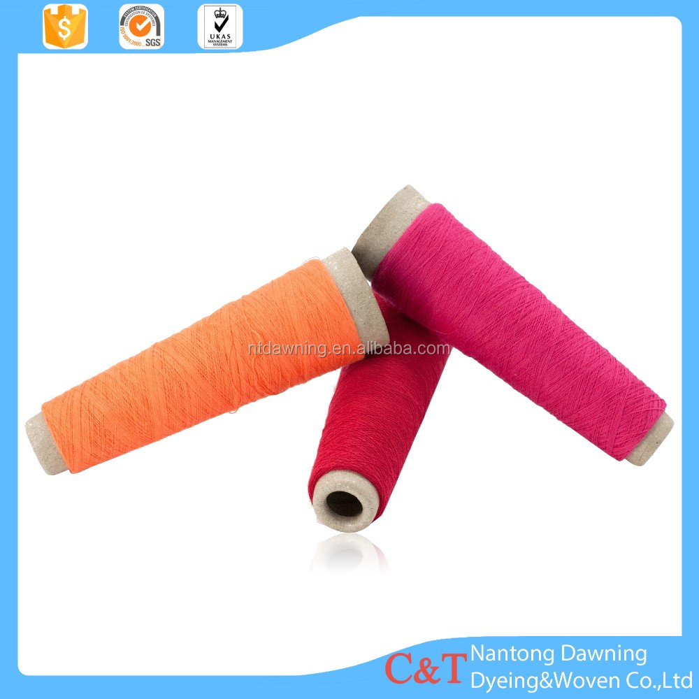 TC cotton polyester blended yarn