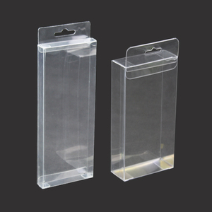Disposable Fancy Small Clear PET Folding Plastic Transparent Gift Packing Box