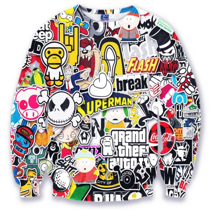 Full dye 3d sublimation hoodie custom all over print hoodies