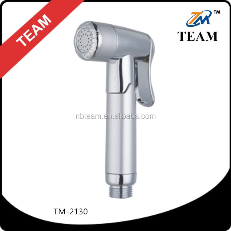 TM-2130 Bathroom accessories ABS plastic toilet shattaf hand bidet shower sprayer