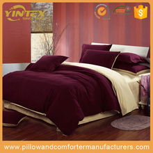 Wholesale factory new microfiber bed sheets hotel bedding sets