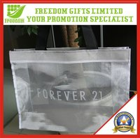 Promotional Nylon Metallic Mesh Shopping Bag