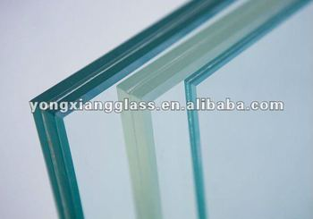 4-25mm High quality PVB interlayer Laminated Glass
