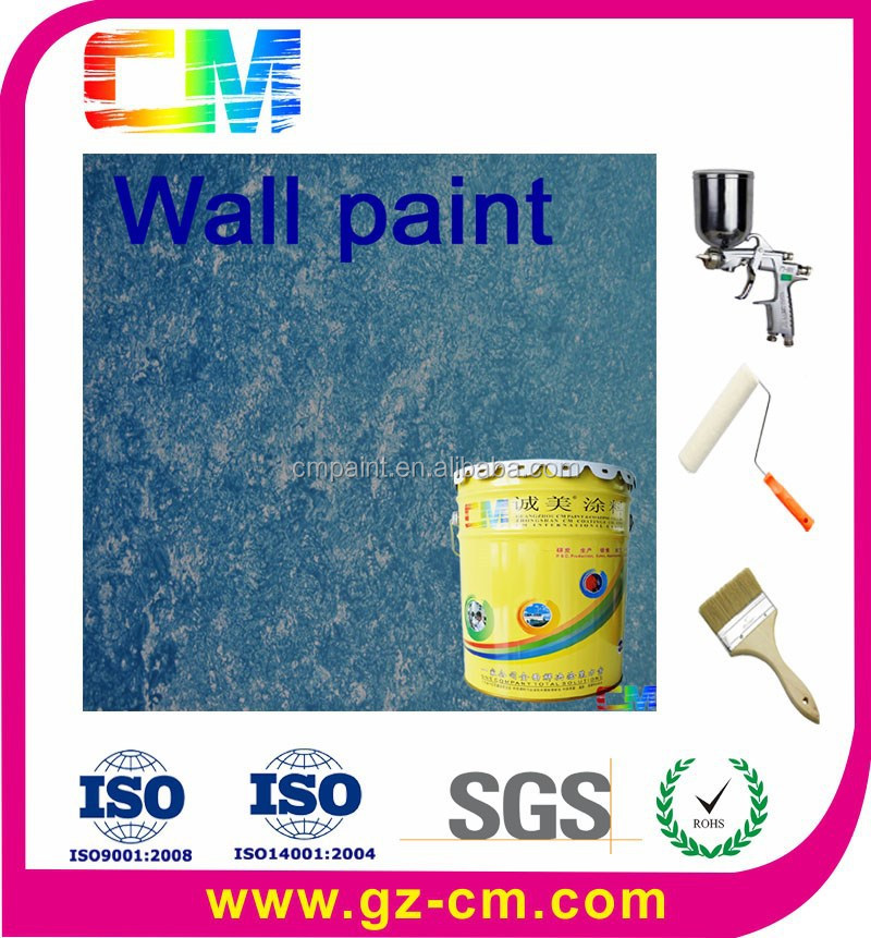 Exterior waterproof texture wall art elasticity nano coating