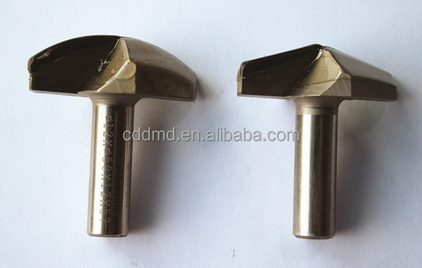 PCD router bit 120 degree V shape V router bit manufacturer