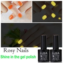 Super Uv Gel Type Nail Glow In The Dark Gel Polish